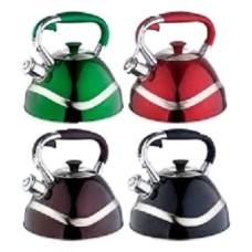 Чайник из нержавеющей стали свистящий EDENBERG 3.0л. EB-7010