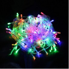 Гирлянда светодиодная 500 LED микс - прозрачный провод