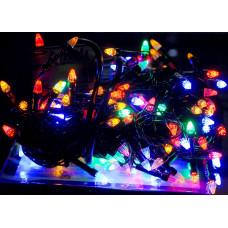 Гирлянда светодиодная Карандаш 100 LED микс - черный провод